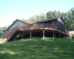 Wrap around deck – Columbus, IN